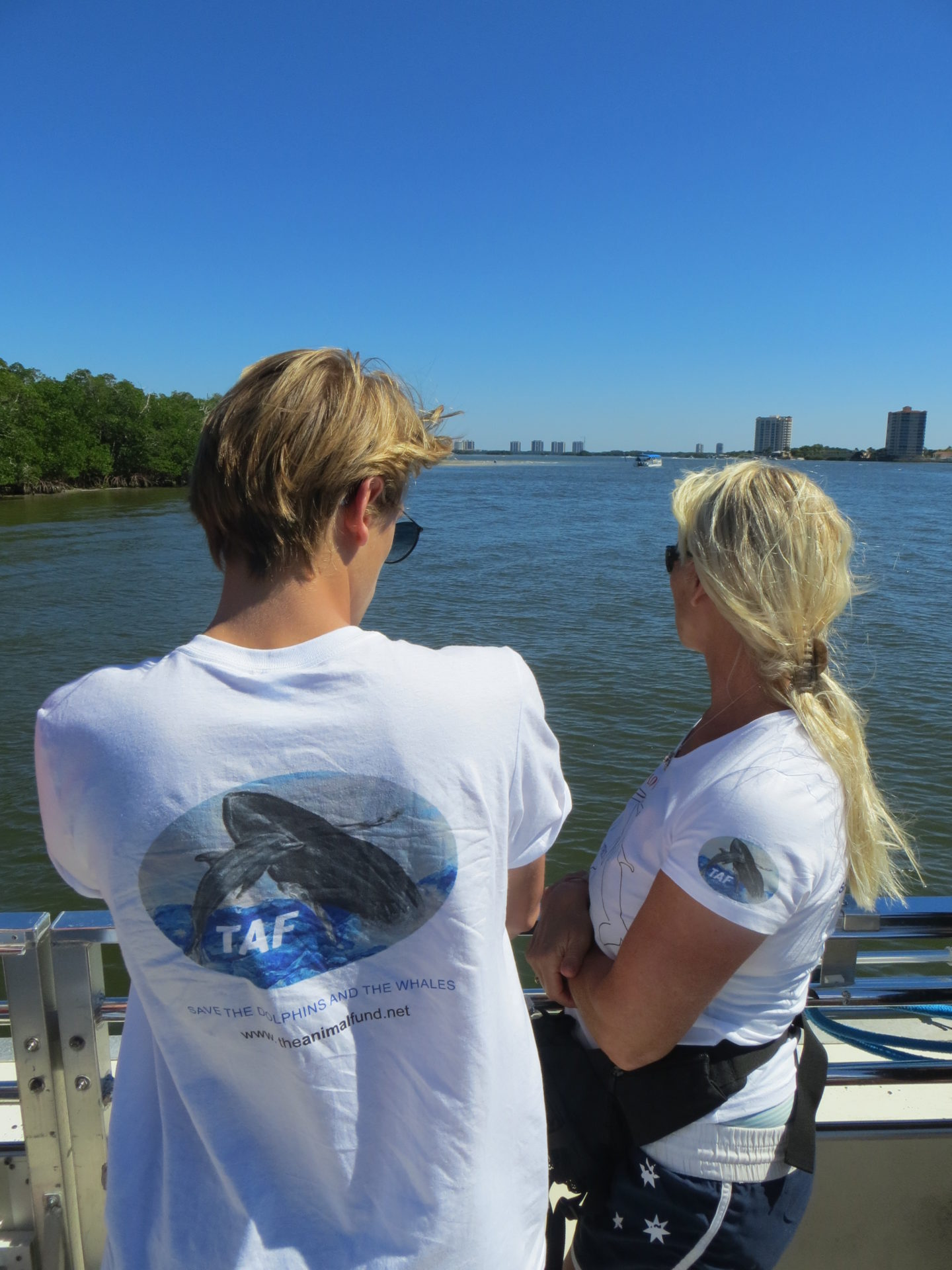 La visite de TAF à Estero Bay, Floride, octobre 2016
