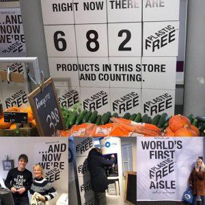 Supermarché sans Plastique aux Pays Bas