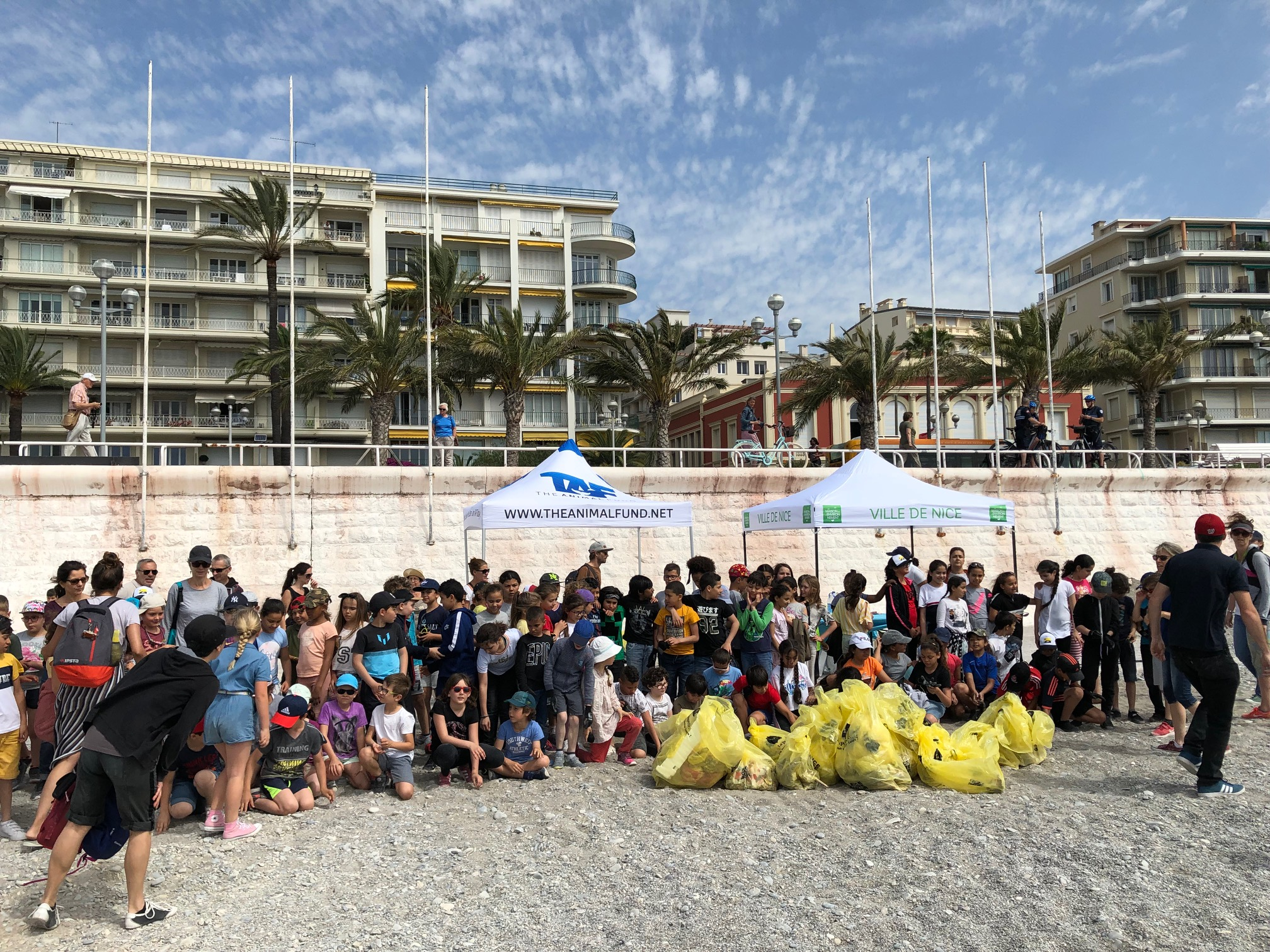 June 7, 2019 – Ocean clean up