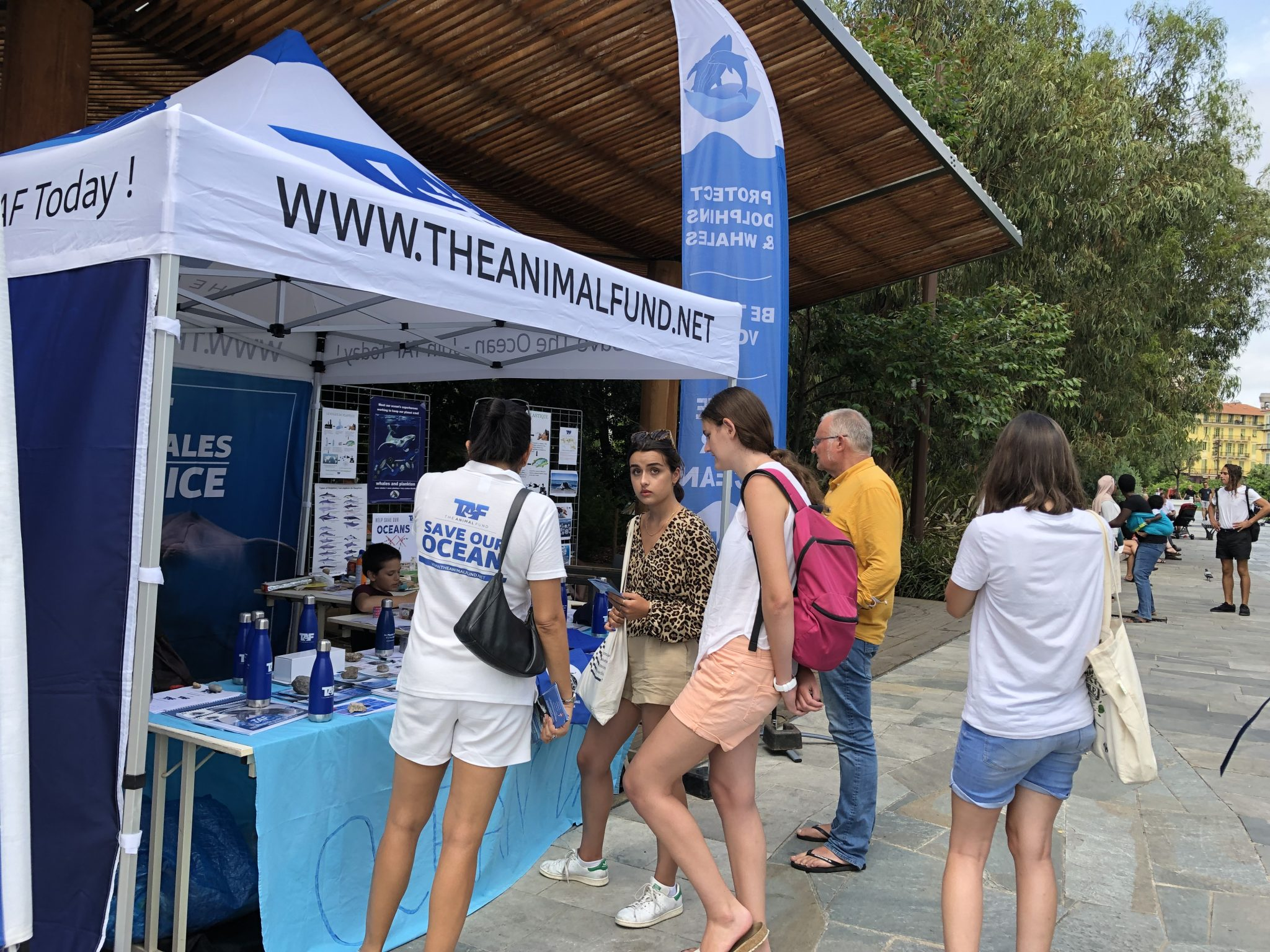 August 1st, 2019 – TAF educational stand in Nice